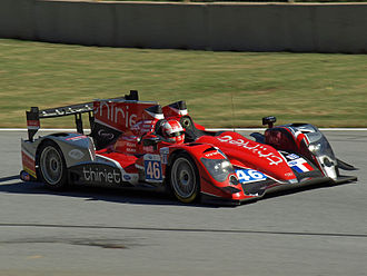 TDS Racing - Mathias Beche in Oreca 03-Nissan in Petit Le Mans 2012
