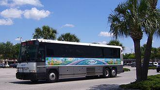 Pinellas Suncoast Transit Authority - Image: PSTA motorcoach 2308
