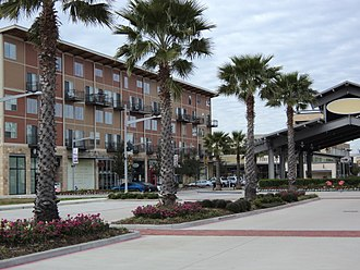 Pearland, Texas - Town Center streetscape