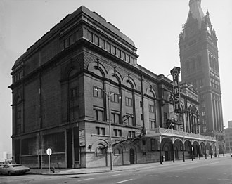 Pabst Theater - Southern façade c.1970