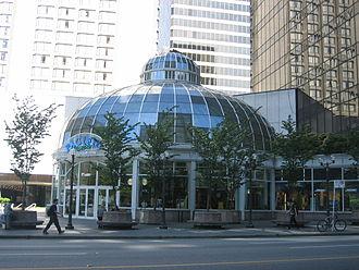 Eaton Centre - Pacific Centre in Vancouver