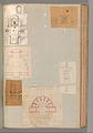 Page from a Scrapbook containing Drawings and Several Prints of Architecture, Interiors, Furniture and Other Objects MET DP372066.jpg