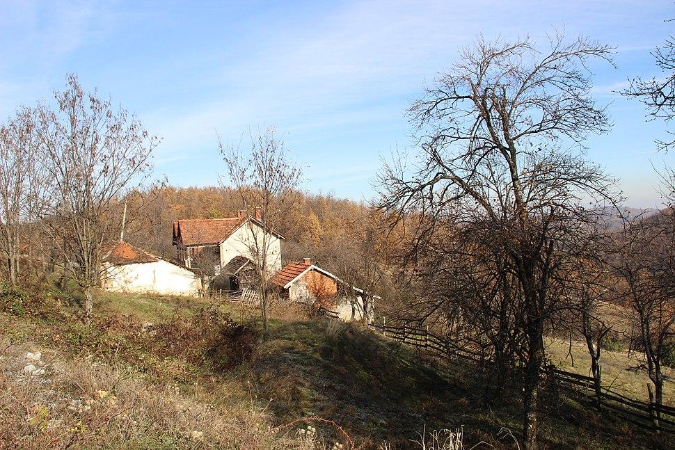 Paklje - opština Valjevo - zapadna Srbija - groblje 2