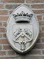Palazzo Perolari-Malmignati, retro, stemma familiare 1 (Lendinara).jpg