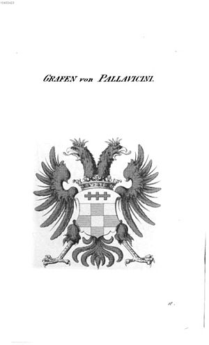 Pallavicini family - Arms of the Grafen von Pallavicini