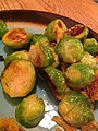 Pan-crusted Brussels Sprouts