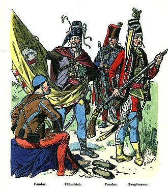 Trenck's Pandurs - Croatian pandurs from 1742