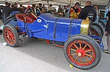 Photo d'une Panhard Grand Prix, statique.