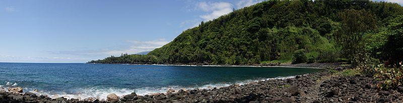 A voir à l'île de la Réunion - l'Anse des Cascades sur les côtes de la commune de Sainte-Rose