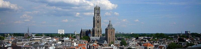 Dom Van Utrecht Gezicht op Utrecht Met de Dom