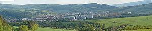 Bardejov - Panorama of Bardejov, summer 2008