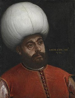 Murad II Sultan of the Ottoman Empire from 1421 to 1451