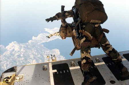 Parachutistes Balagne