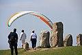 Paraglider at Ales stenar.JPG