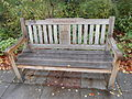 Parbold Parish Council 2012 Diamond Jubilee bench.JPG