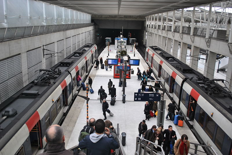 Paris-Charles de Gaulle Airport - RER B Station