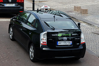 Hybrid taxi - Hybrid taxi from G7 Green Cab in Paris