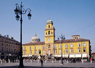Parma - Palazzo del Governatore.