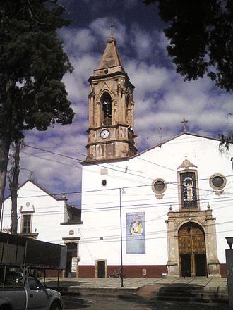 Coeneo de la Libertad - Church of Nuestra Señora del Rosario