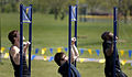Participants execute as many pull-ups as possible in a two-minute time limit during the Navy SEAL Fitness Challenge at the Ford Community and Performing Arts Center in Dearborn, Mich., May 10, 2008 080510-N-XE935-017.jpg
