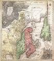 Partie orientale de la Nouvelle France ou du Canada avec l'Isle de Terre-Neuve et de Nouvelle Ecosse, Acadie et Nouv. Angleterre avec Fleuve de St. Laurence, represente par T. Conr. Lotter, graveur et geogr. d'Augsbourg. RMG F0373.tiff
