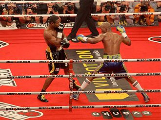 Bernard Hopkins - Hopkins (right) vs. Pascal, 2011