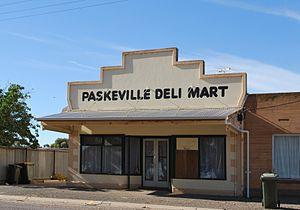 Paskeville, South Australia - Image: Paskeville Deli Mart