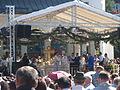 Patriarhul Daniel la sfintirea catedralei Naşterii Maicii Domnului din Gura Humorului (2).jpg