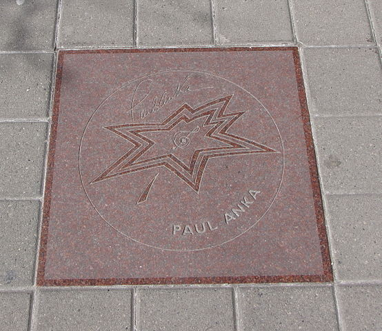 Paul Anka star on Walk of Fame.jpg