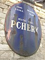 Pchery CZ house No 98 village sign from interwar period 196.jpg
