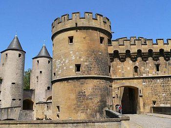 The German Gate in Metz