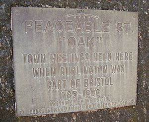 Bristol, Connecticut - Commemorative Plaque