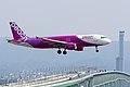 Peach Aviation ,MM24 ,Airbus A320-214 ,JA812P ,Arrived from Taipei ,Kansai Airport (16800989722).jpg