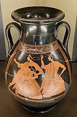 Thetis raped by Peleus