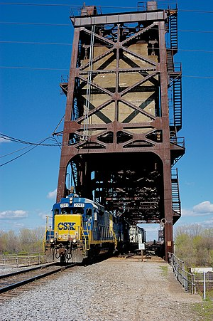 Fourteenth Street Bridge (Ohio River) - Image: Pennsylvania R Rbridge