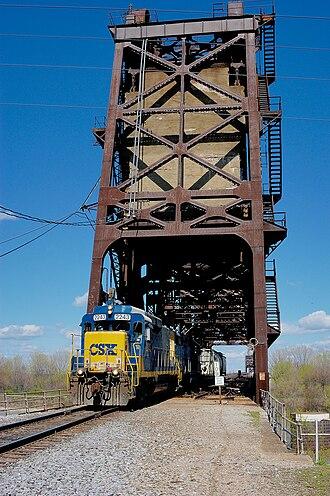 Fourteenth Street Bridge (Ohio River) - Image: Pennsylvania R Rbridge