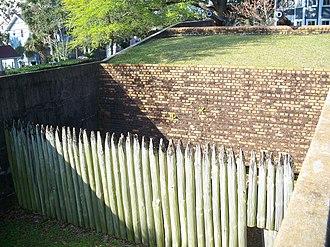 Fort George (Pensacola, Florida) - Fort reconstruction