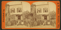 People posing with alligators in front of Eggleston's Florida shell store, from Robert N. Dennis collection of stereoscopic views.png