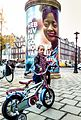 Peperbus met poster Hiv vereniging Nederland.jpg