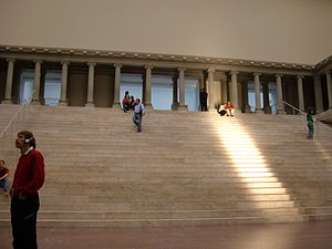 The Pergamon Altar at the Pergamon Museum in B...