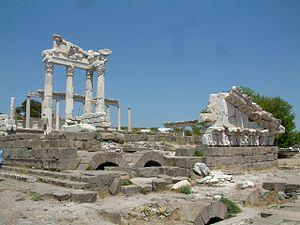 Trajan-Tempel in Pergamon