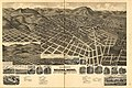 Perspective map of the city of Helena, Mont. Capital of State, county seat of Lewis & Clarke Co. LOC 75690567.jpg