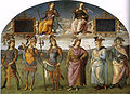 Perugino, Fortitude and Temperance with Six Antique Heroes 00.jpg