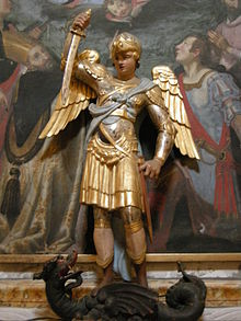 Statua cinquecentesca nella chiesa di San Michele Arcangelo di Pescia (XV secolo)