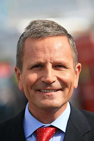 English: Peter Levy, British television and ra...