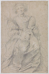 Peter Paul Rubens - Portrait of Hélène Fourment - Google Art Project.jpg