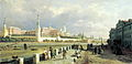 Petr Vereshchagin - View of Moscow Cremlin, 1879.jpg