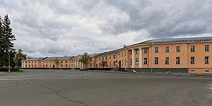 Petrozavodsk - Round Square in central Petrozavodsk