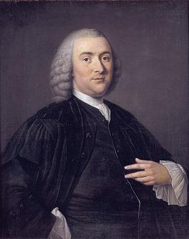 Hoogleraarsportret van Petrus Camper in Amsterdam (1760), door Tibout Regters (1710-1768)