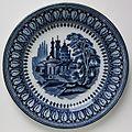 Petrus Regout & Co. decorative plate Agra blue 001.jpg